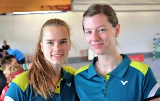 Merle Weber und Alina Schaper