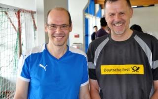 Jens Kretschmer und Manfred Schubert